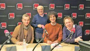 Eric Sarfati, Serge Elhaïk, Francesco Rapazzini & Benoît Duteurtre, studio 141, 31 décembre 2016