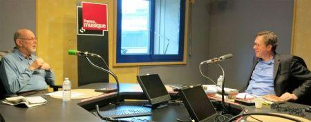 Benoît Duteurtre, Étonnez-moi Benoît, France Musique, Jean-François Kahn & Benoît Duteurtre , studio 132, 07 janvier 2017, photo de Annick Haumier-3
