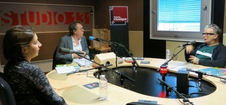 Jeanne Plante & Benoît Duteurtre, studio 131, 29 octobre 2016