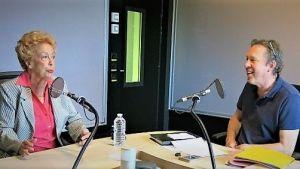 Benoît Duteurtre, Étonnez-moi Benoît, France Musique, studio 761, Nicole Broissin et Benoît Duteurtre, 29 septembre 2018, photo de Annick Haumier