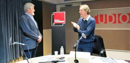 Patrick Préjean & Benoît Duteurtre, studio 131, 26 novembre 2016