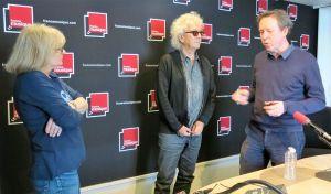 Renée Orio, Luc Plamondon & Benoît Duteurtre , studio 141, 13 mai 2017