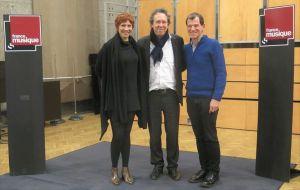 Benoît Duteurtre, Étonnez-moi Benoît, France Musique, studio 107, Isabelle Georges, Benoît Duteurtre, Jeff Cohen, 17 février 2018