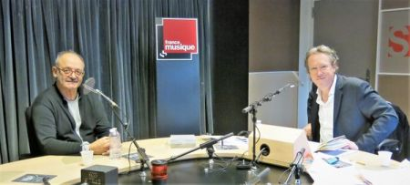 Benoît Duteurtre, Étonnez-moi Benoît, France Musique, studio 131, Louis Chedid et Benoît Duteurtre, 10 mars 2018