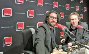 Mathieu Sempéré & Benoît Duteurtre , studio 141, 15 avril 2017