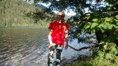 Jean-Sébastien au lac de Longemer