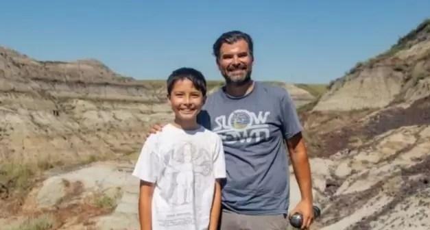 Kanada'da 12 Yaşındaki Çocuk Dinozor Fosili Buldu✌