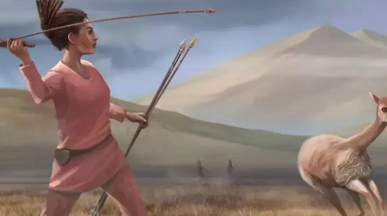 Tarih Öncesi Kadınlar Avlandı mı?