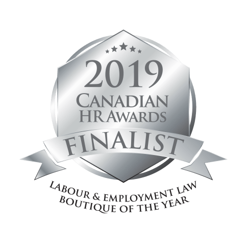 award ranked top nominated employment lawyer toronto