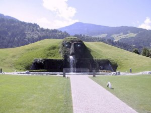 Swarovski Crystal world in Wattens, Tirol, Austria