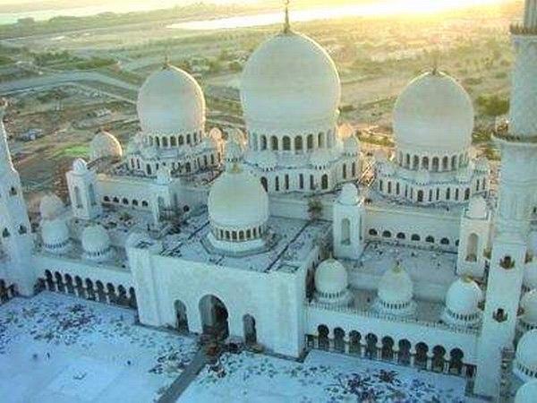 Mezquita en Abu Dhabi