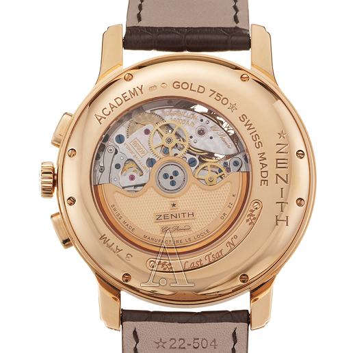 Zenith Academy Last Tsar Tourbillon Chronograph Men's Watch