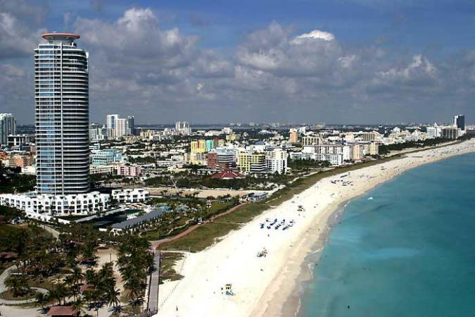 Miami en la Florida