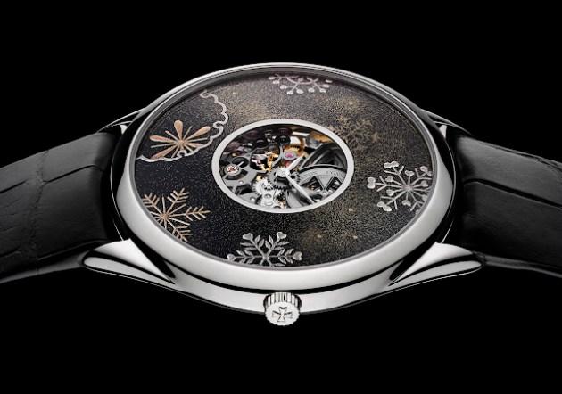 Reloj «Yukimi»: La contemplación de la nieve en invierno