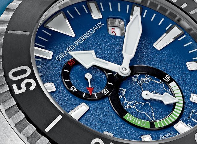 "Girard-Perregaux presenta el Sea Hawk 1000 ""Big Blue"""