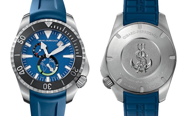 "Girard-Perregaux presenta el Sea Hawk 1000 ""Big Blue"""