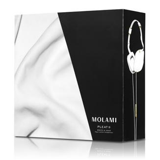 Caja auriculares de napa Pleat de Molami su valor 300 euros