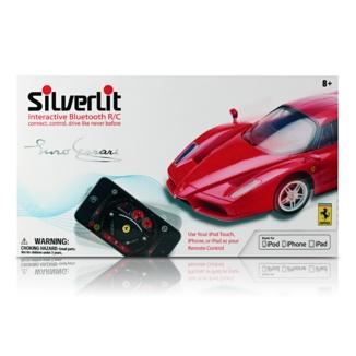 Coche teledirigido Ferrari Enzo por Bluetooth interactivo de Silverlit