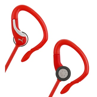 Los ganchos para la oreja ajustables impiden que el botón del auricular se mueva.