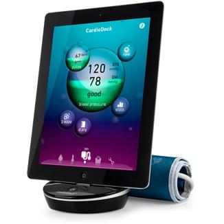 Convierte tu iPhone, iPad o iPod touch en un monitor de presión sanguínea.