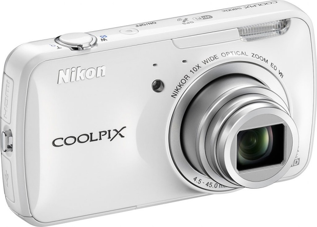 Nikon Coolpix S800c con Android