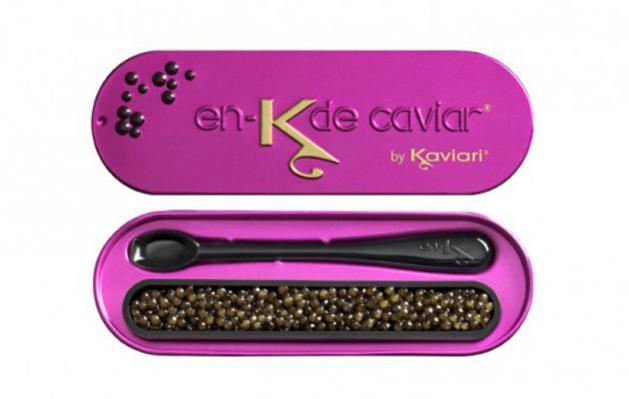 En-K de Kaviari, 15 gramos de caviar de diseño y un valor de 40 euros