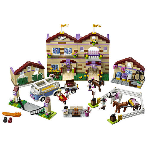 LEGO Friends Summer Riding Camp 3185 - Precio $110 dólares