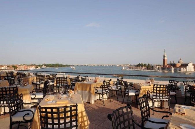 Hotel Danieli Venecia terraza del restaurante
