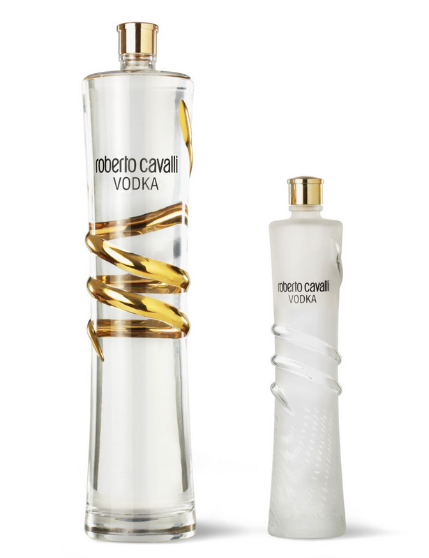 Edición limitada de Vodka Roberto Cavalli.