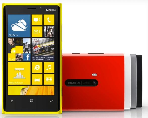 Nokia Lumia 920,el primer Windows Phone 8 con PureView