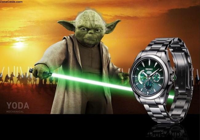 Seiko Star Wars edición Yoda