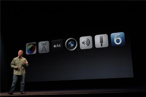 New features, display, LTE, A6, cameras, dock connector, iOS 6