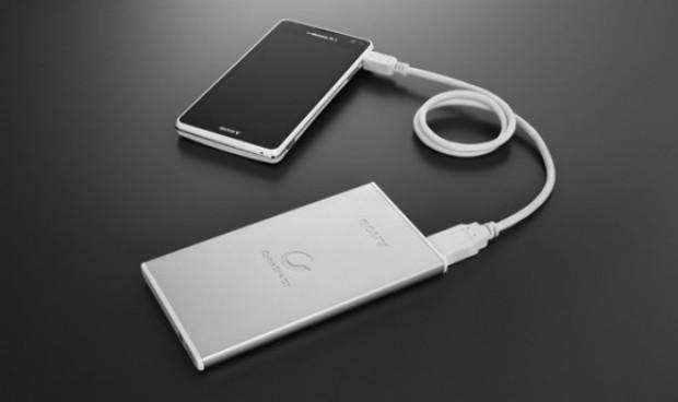 Sony anuncia nuevas baterías USB extrafinas para móviles y tablets