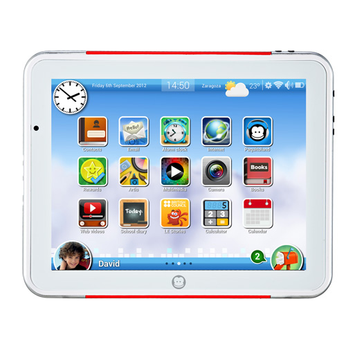 Tablet infantil Super Paquito