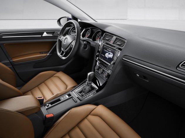 Interior del Volkswagen Golf 2013
