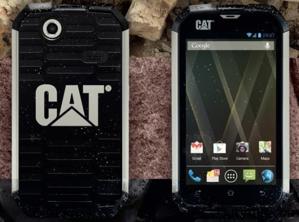 Caterpillar entra al ruedo Android con el CAT B15 un teléfono duro de roer