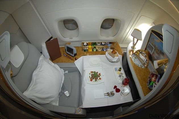 The Emirates A380 First Class Cabin: One Indulgent Experience