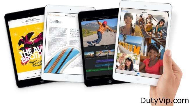 Nuevo iPad Mini Retina. Aunque lo más llamativo del nuevo iPad Mini Retina y su principal razón de ser es la mejora de la pantalla hasta una resolución de 2048×1536 píxeles (326 ppp), hay mejora también en el procesador, que ahora es un A7 con 64 bits y coprocesador de movimiento M7 que ya vimos en el iPhone 5s.