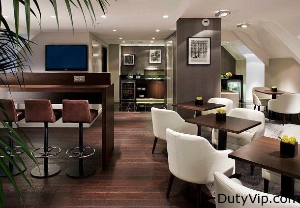 Lounge Ejecutivo Paris Marriott Opera Ambassador Hotel