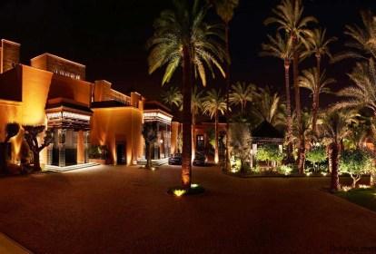 Una imagen vale mas que mil palabras en la noche marroquí
