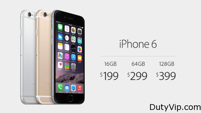 iPhone 6 Precios y Iphone 6 Plus Precios