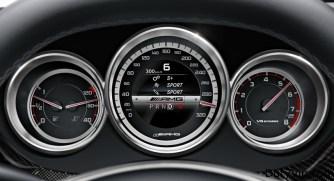 Información de lujo en el tablero AMG