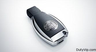 Hermosa llave de apertura de Mercedes-Benz CLS