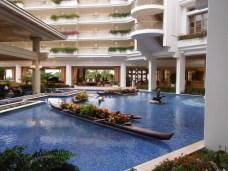 Majestuoso lobby en el Grand Wailea Resort & Spa
