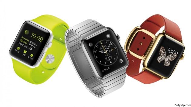 Tres modelos Watch, Watch Sport y Watch Edition
