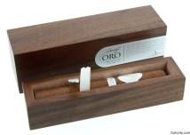 Caja de lujo individual de Davidoff Oro Blanco