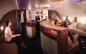 Ultra-Lujosa Cabina De Primera Clase En Los Airbus A380 De Qatar Airways