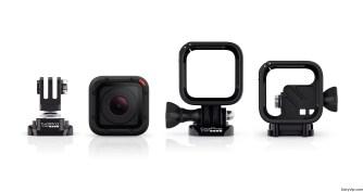 GoPro Hero4 Session compatible con la mayoría de los accesorios actuales