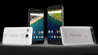 Nexus 6P y Nexus 5X