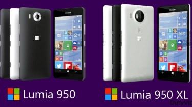 Nokia Lumia 950 y 950 XL